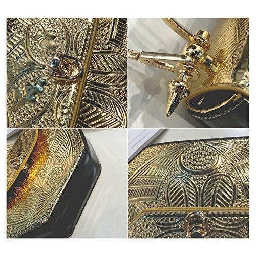 Hombro Oro Brillantes Remiendo De oro Pu Bolsos Sodial Del La SqzEwxR