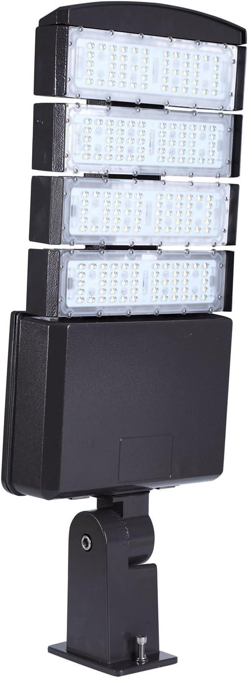 200W 4800-5300K 22000LM LED Parking Lot shoebox Light Fixture Area LED Light US