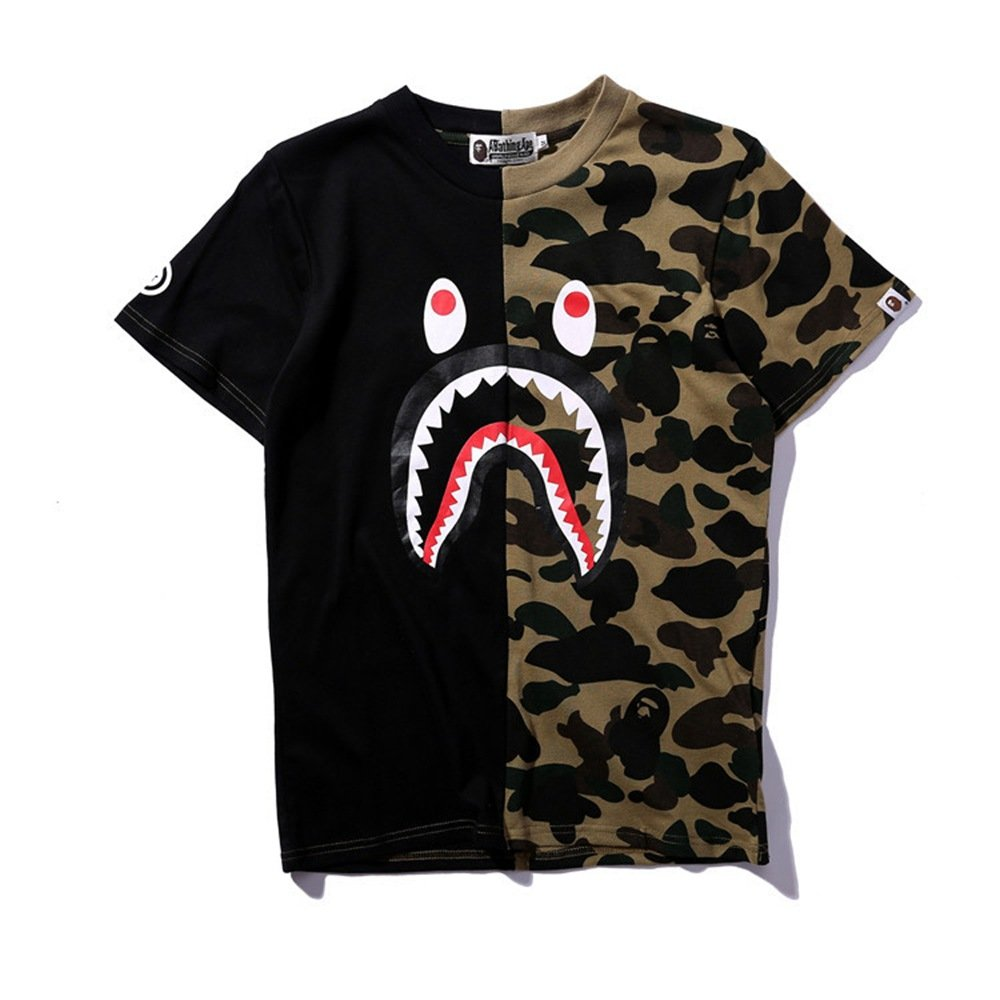 Christox Boy's Casual Fashion Crewneck T Shirt Camo Tees Unisex Pullover Tops Tee-k0202