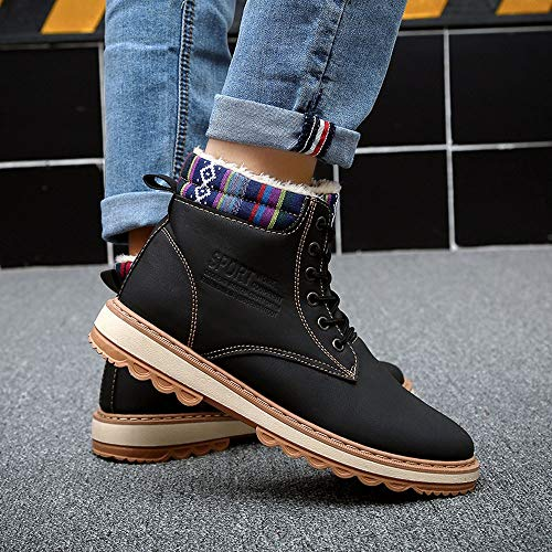 5 Pas À Hommes Chaussures Caoutchouc Vintage Travail Noir 39 Botte Sneakers Homme 42 Gongzhumm Eu Cher Bottines Lacets Hautes Bottes Noël qwxWBSUIzp