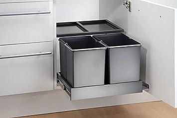 Wesco Automatic Shorty 757311-11 Einbau Abfallsammler Abfall-Eimer Mülleimer