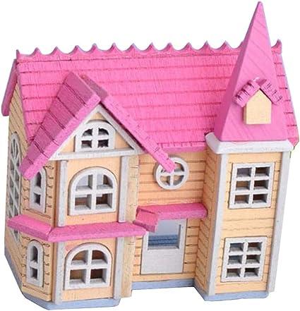 Cuatro casas de Muñecas Miniatura Libros Para Niños Hecho A Mano 1:12 Th Scale