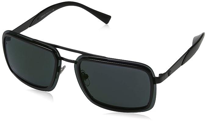 Amazon.com: anteojos de sol Versace VE 2183 1009 °C0 negro ...