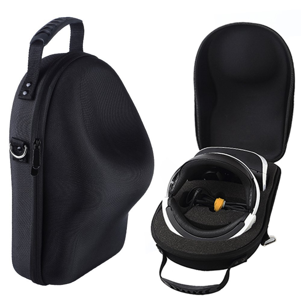 Nice Cool Case for Sony PlayStation 4 VR, PS4 VR (PSVR) Bag Storage Box (Black) Esimen Sony PlayStation VR (PSVR)