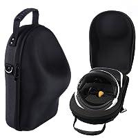Hard EVA Travel Case for Sony PlayStation VR (PSVR) Drone Headset Hardshell Housing Bag Storage Box (Black)