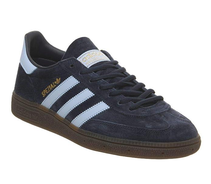 Adidas Spezial Sneakers dunkelblau (Navy) mit hellblauen Streifen