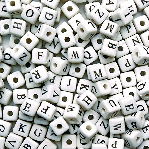 Colorations ABCBEAD Jumbo Alphabet Beads (Pack of 260) -