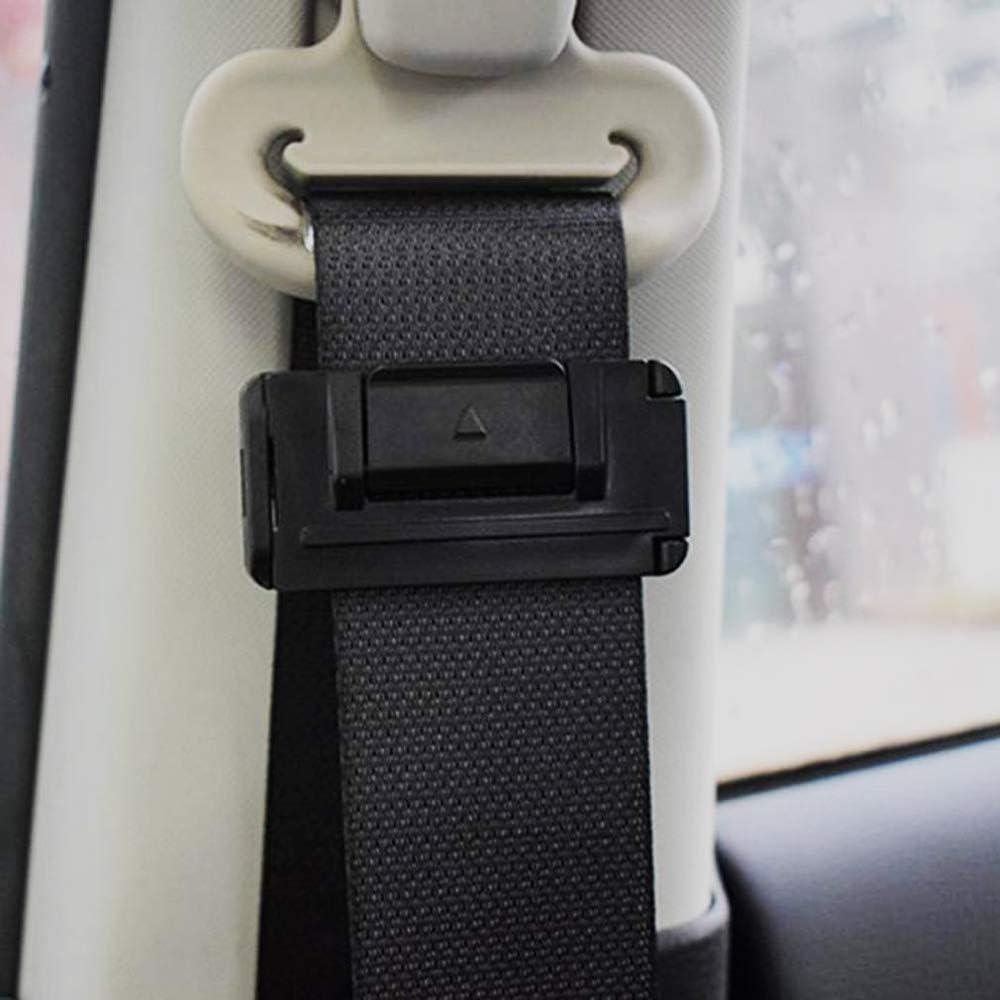 4 St/ück Sicherheitsgurt Einsteller f/ür Autos Sicherheitsgurt Positionierer Sicherheitsgurt Clips Relaxen des Schulterhalses Verriegelungsclips Auto Gurtversteller f/ür Erwachsene