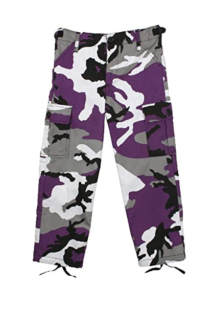 Amazon.com: Hersrfv - Pantalones para niños, color violeta ...