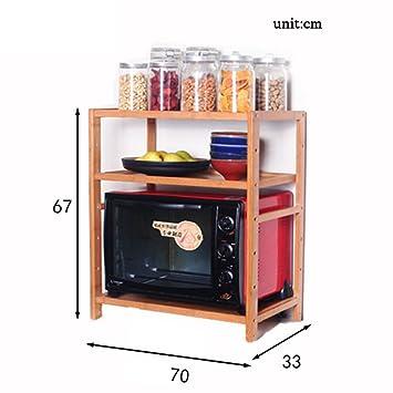 3-Tier-Küche Mikrowellenherd Rack Multifunktions-Spice Cooker ...