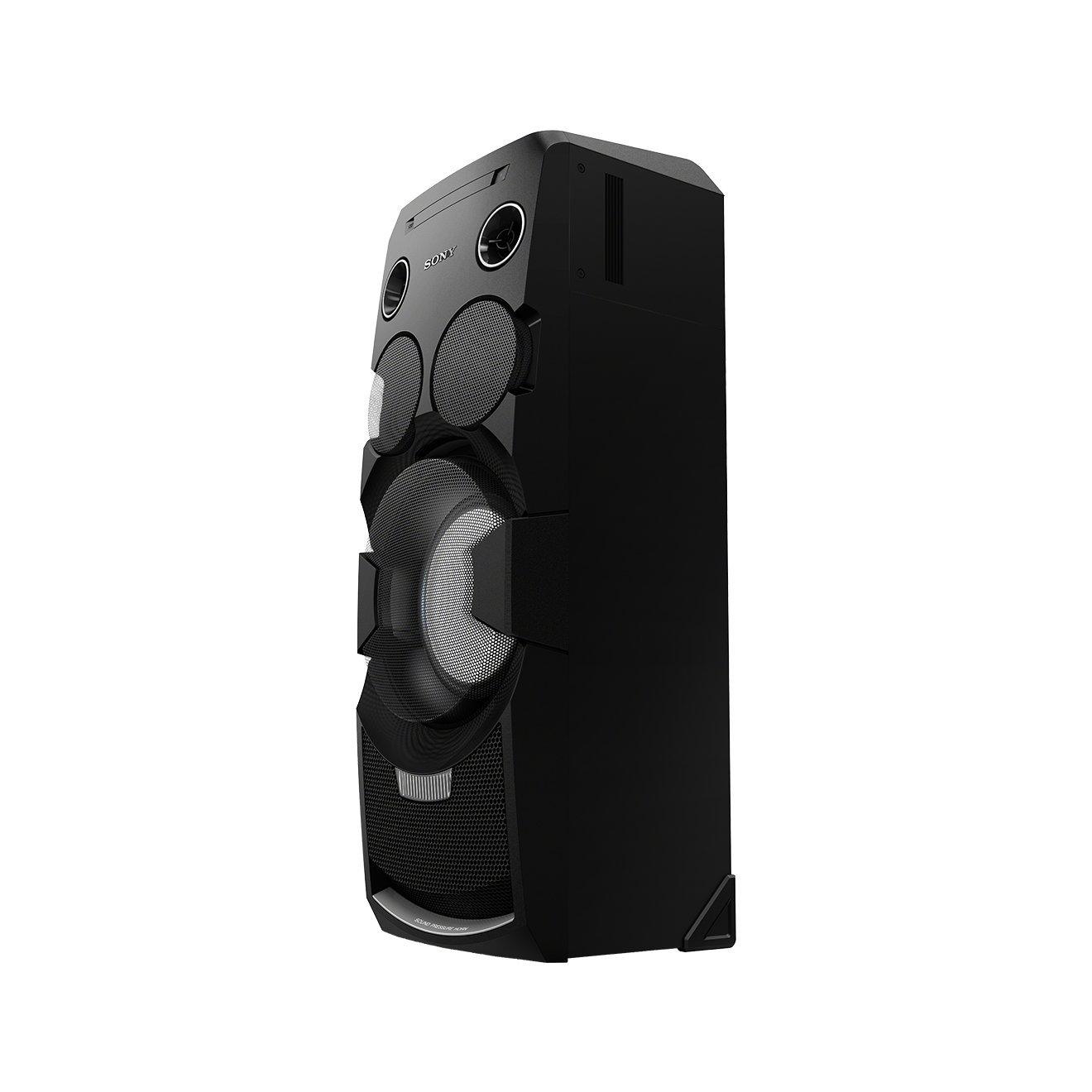 Sony MHC-V7D - Sistema de audio todo-en-uno de 1440 W (Bluetooth, NFC, iluminación LED, efectos DJ y control gestual), color negro: Amazon.es: Electrónica