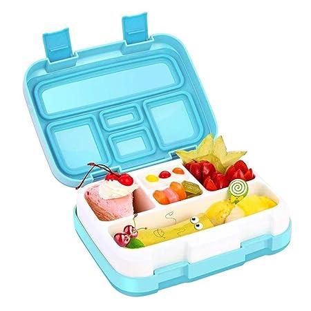 Hankyky Lunch Box 800-1000ML con 5 rejillas, caja Bento ecológica ...