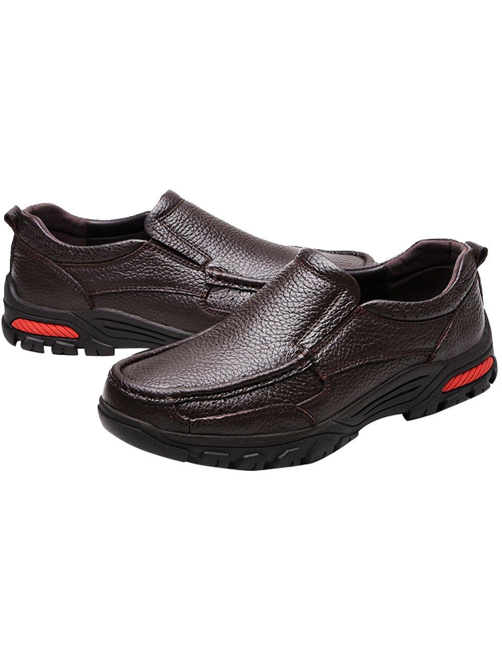 Menschwear メンズ CN-QZZF-9087 B07B2KDZ13 11 D(M) US|Brown-9087 Brown-9087 11 D(M) US