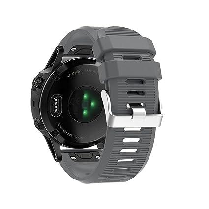 Correa de reloj barato para Garmin Fenix 5X - correa de banda de ...