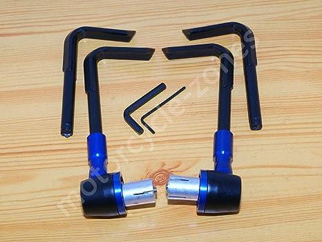 FidgetFidget - Manillar de Motocicleta de 7/8 Pulgadas, Protector de Manillar de Mano