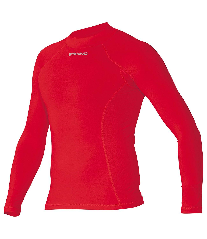 Stanno Funktionsunterwäsche Langarm Unterhemd rot