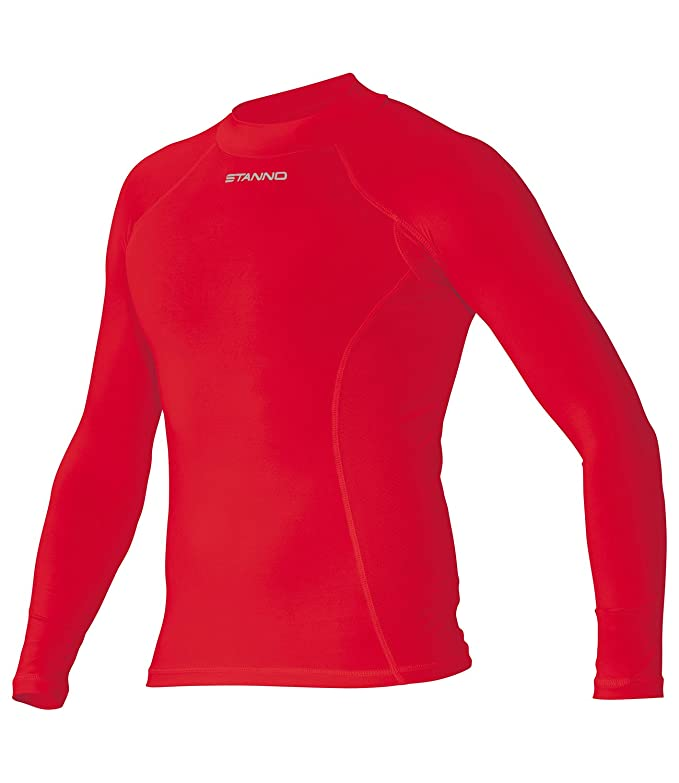 4875c13bef Stanno Men's Long Sleeve Pro Football Base Layer T-shirt
