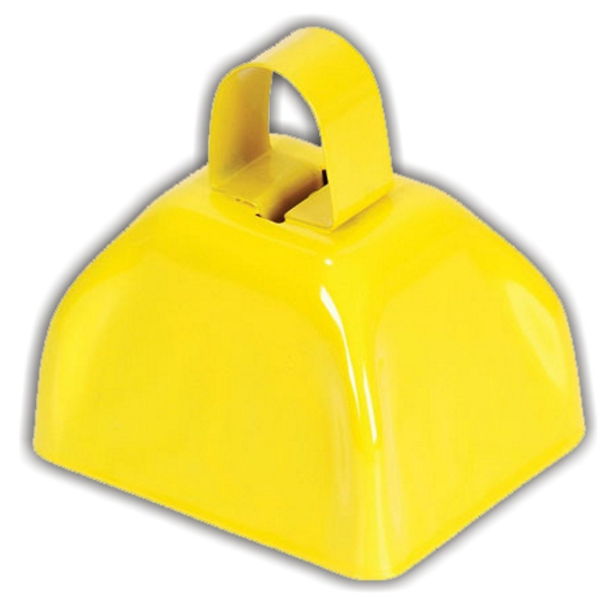 3'' Metal Cowbell (1 dozen) - Yellow