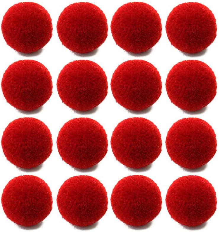 EXCEART 50 Pcs Mini Pom Pom Boules Artisanat Color/é en Peluche Assortiment de Pompons pour Enfants Bricolage Art Artisanat D/écorations Chaton Jouets Porte-Cl/és Pendentif Fabrication 2 Cm