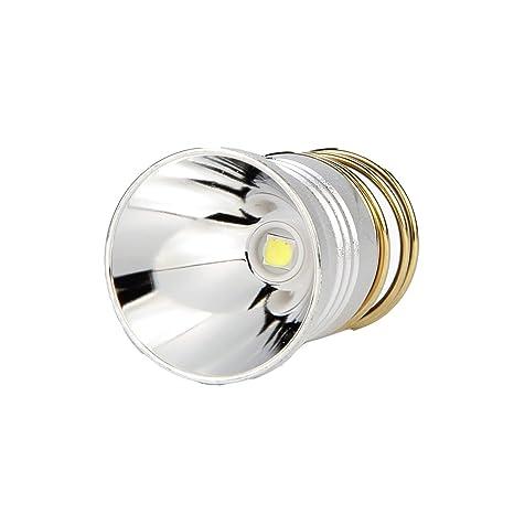 UltraFire Bombilla LED Linterna 1000 Lúmene 26.5mm 1 Modo Bombilla de Repuesto Para Linterna,