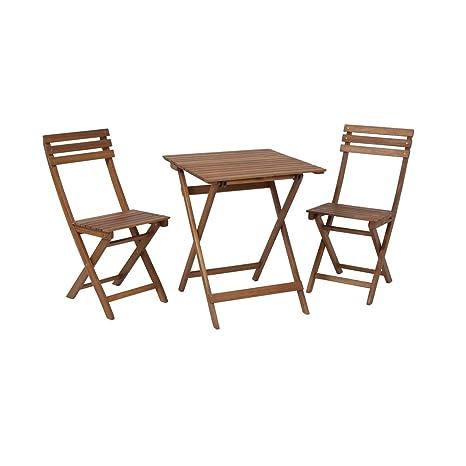 greemotion Ensemble chaise et table bistrot Borkum - Table ...