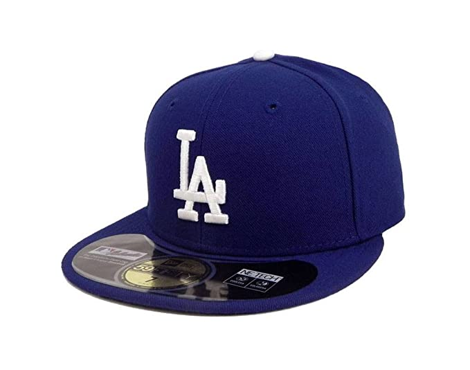 New Era 59Fifty Hat Los Angeles Dodgers Authentic On Field Game Royal Blue  Cap (7 1d4433c8df88