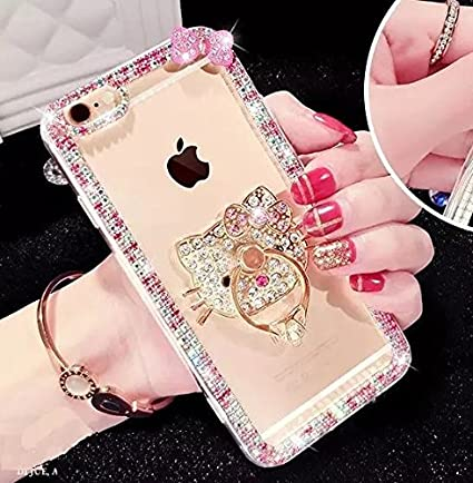 back soft for diamond gold case product iphone eseekgo tpu bling cover