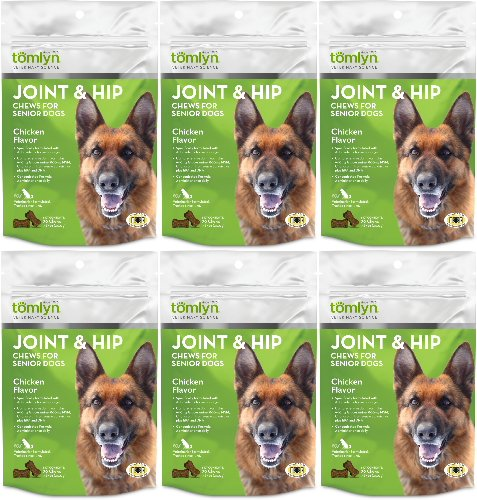 Tomlyn Joint & Hip Chews for Senior Dogs 180ct (6 x 30ct)