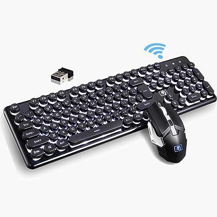 Technology K100 Gaming Mechanical Keyboard Gaming with RGB Backlight Retro punk