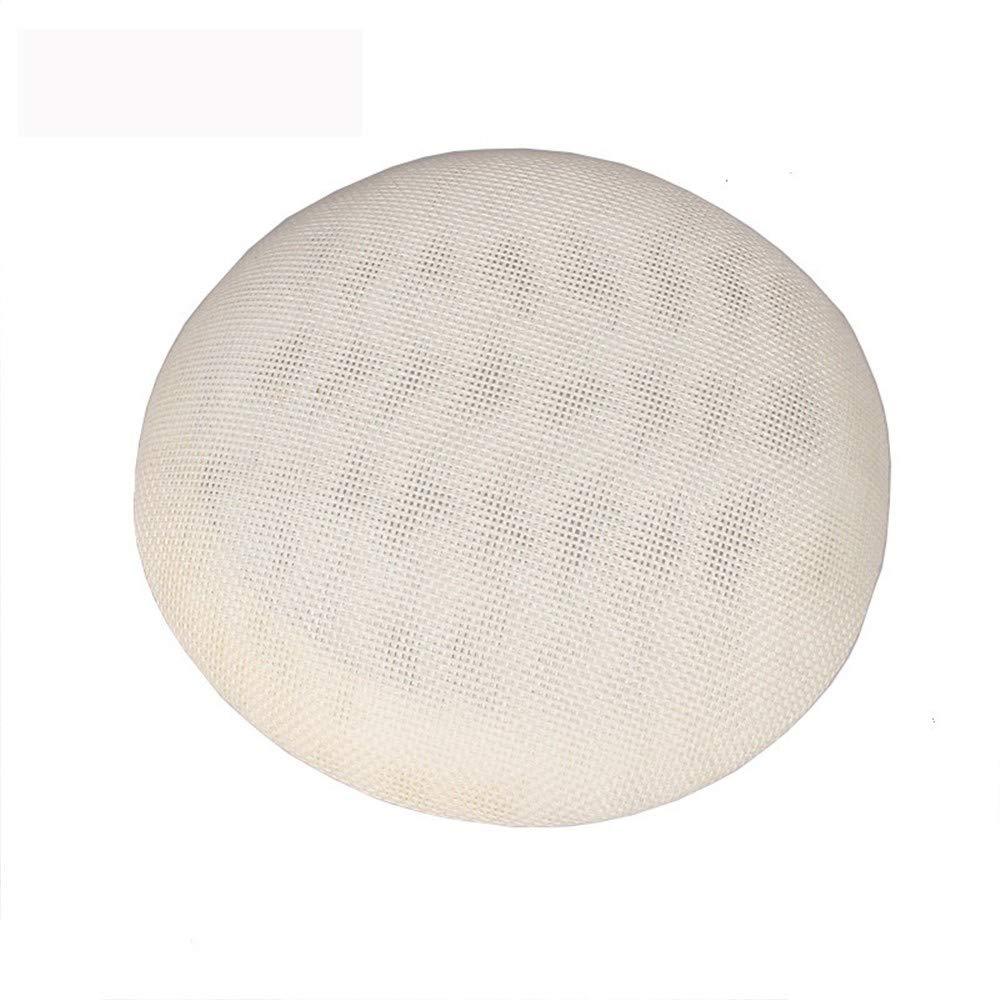 SweetStyle Rundhals Haar Zubehör Hanfgarn Mütze Knopfverschluss Durchmesser 15cm, 13