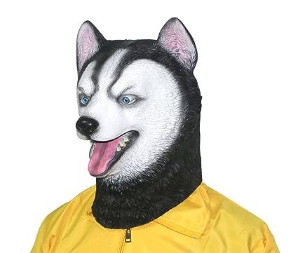 8fdfdffc110 Amazon.com: xihazu Novelty Husky Dog Mask ,Animal Head Masks ...