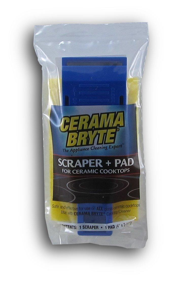 Cerama Bryte Scraper & Pad Combo (2 Pack)