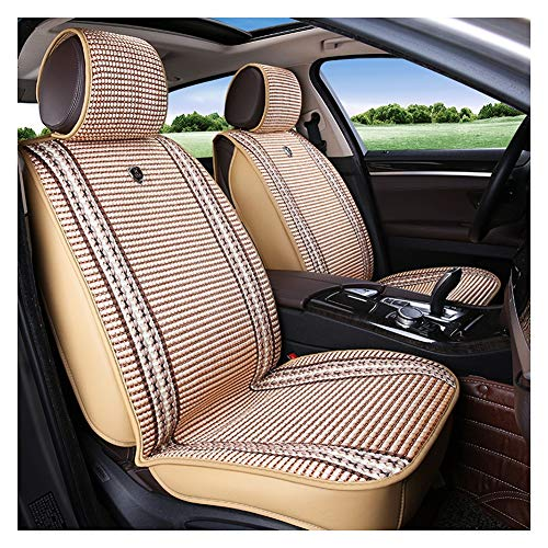 (Automotive Seat Cushions Car seat Cushion Car seat Cover Breathable seat Cushion Good Breathability and Comfort Suitable for Most Models Optional Multi-Style (Color : Beige))