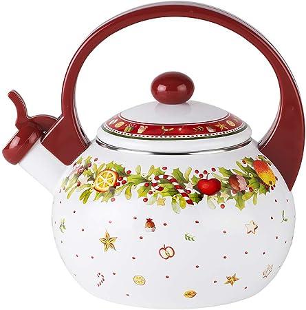 Amazon.com: VILLEROY & BOCH Winter Bakery Delight Tea Kettle: Home & Kitchen