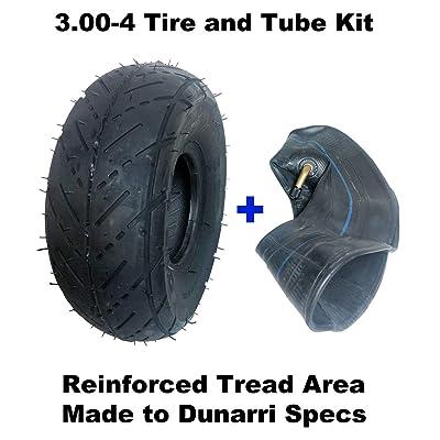 3.00-4 Tire & Inner Tube Combo For Razor Pocket Rocket Razor E300 & E325 eZip 4: Automotive