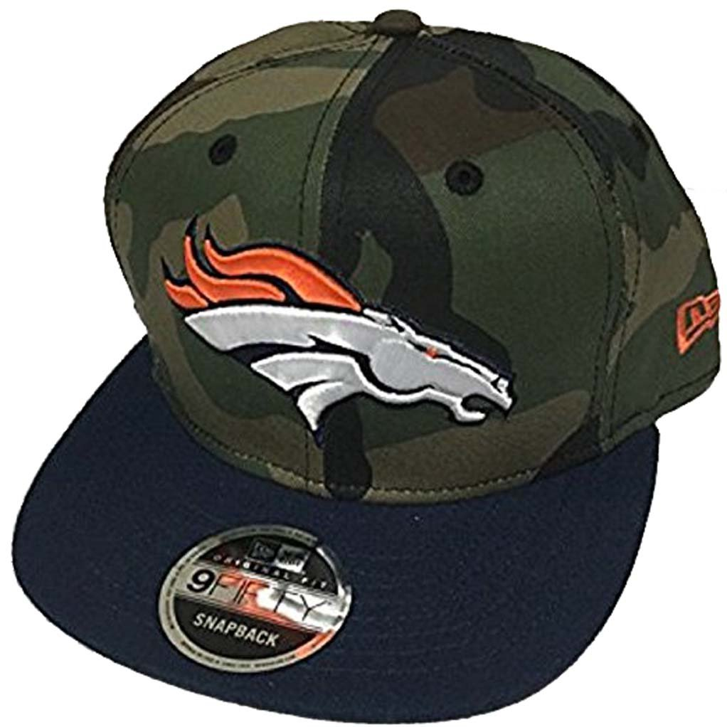 best service 34183 ee4d5 ... sale new era 100 authentic denver broncos salute to service 9fifty  snapback hat cap one size