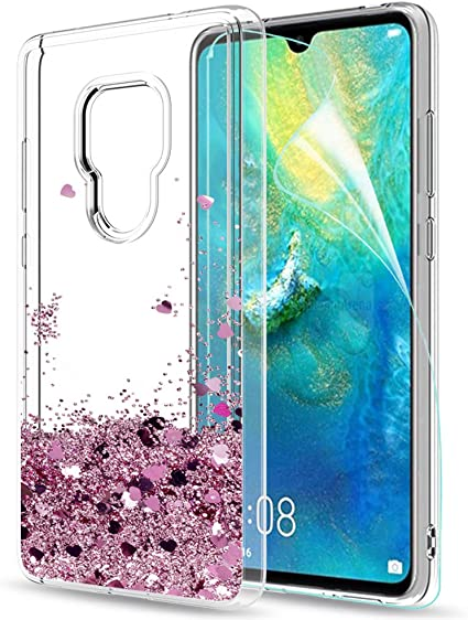 COVER per Huawei Mate 20 Lite CUSTODIA TPU UltraSlim Morbida Trasparente HD Soft