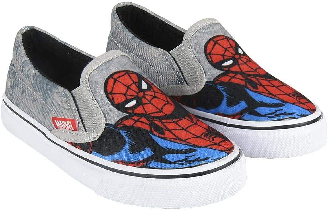 Cerd/á Zapatilla Loneta Vulcanizada Spiderman Ni/ños