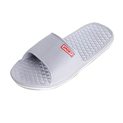 1d8ce91d10977b Gotd Boy Men Solid Flat Bath Slippers Flip Flop Wedge Sandals Slide  Platform Thongs Open Toe