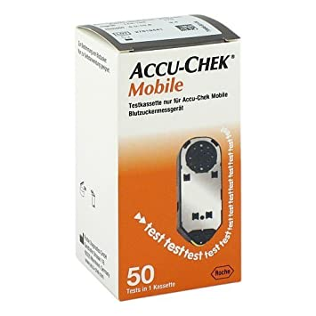 Accu Chek Mobile Testkass 50 Stk