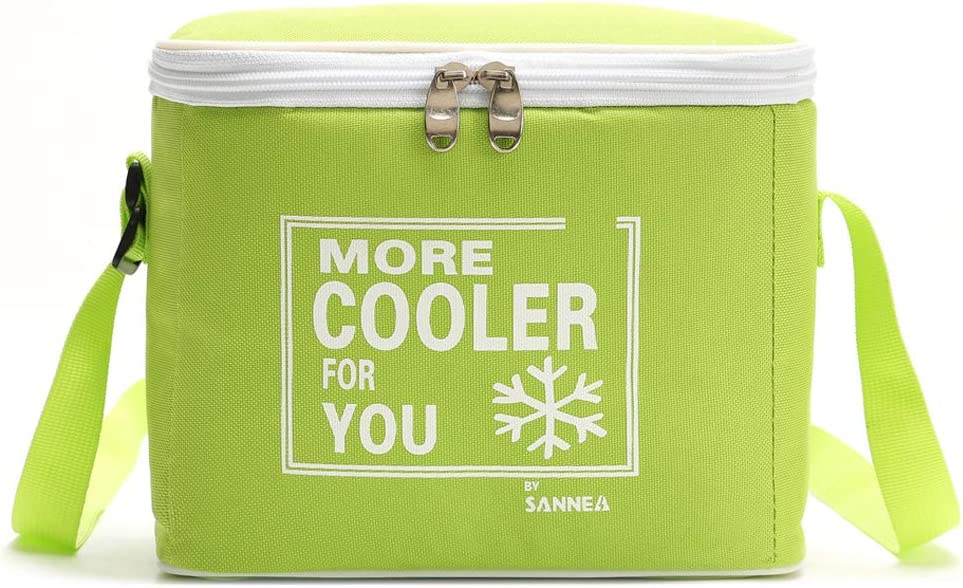 Reusable Insulated Cooler Lunch Bag to keeping food hot or cold, for Office Work School Picnic Camping Beach BBQ Shopping Hiking.(6 L)