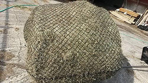 Round Bale Slow Feed Hay Net 4x4 1 3/4 Hole