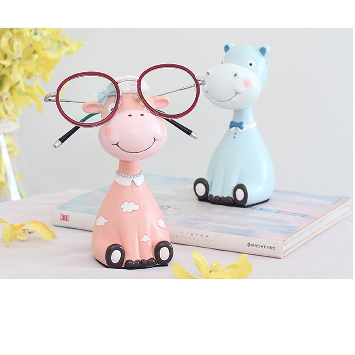 Gift for Christmas or Birthday to Your Loved Ones Adorable Animals Zoo Eyeglass Spectacle in 2 pcs/Eyewear Holder by NaNa (Image #3)