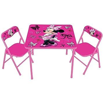 Amazing Disney Mickey Mouse U0026amp; Friends Minnie Erasable Activity Table  U0026amp; Chair ...
