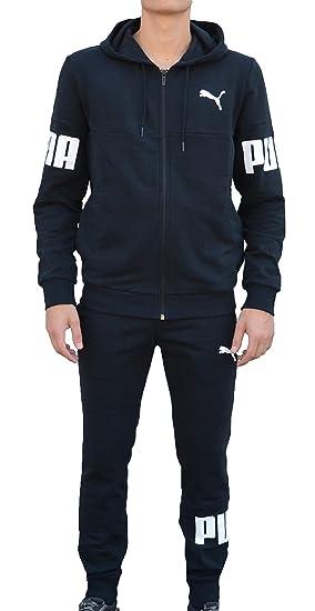 95c4bb370175 Puma Hooded Sweat Suit Men Tracksuits 85507301 (XXL)  Amazon.co.uk  Clothing