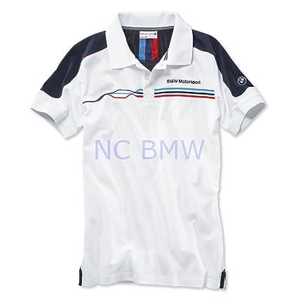Estilo de vida BMW Motorsport Fan Polo camiseta de color blanco ...