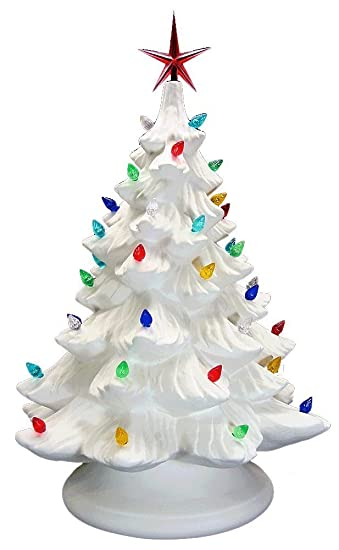 Amazon.com: Lighted Christmas Tree - Paint Your Own Ceramic ...