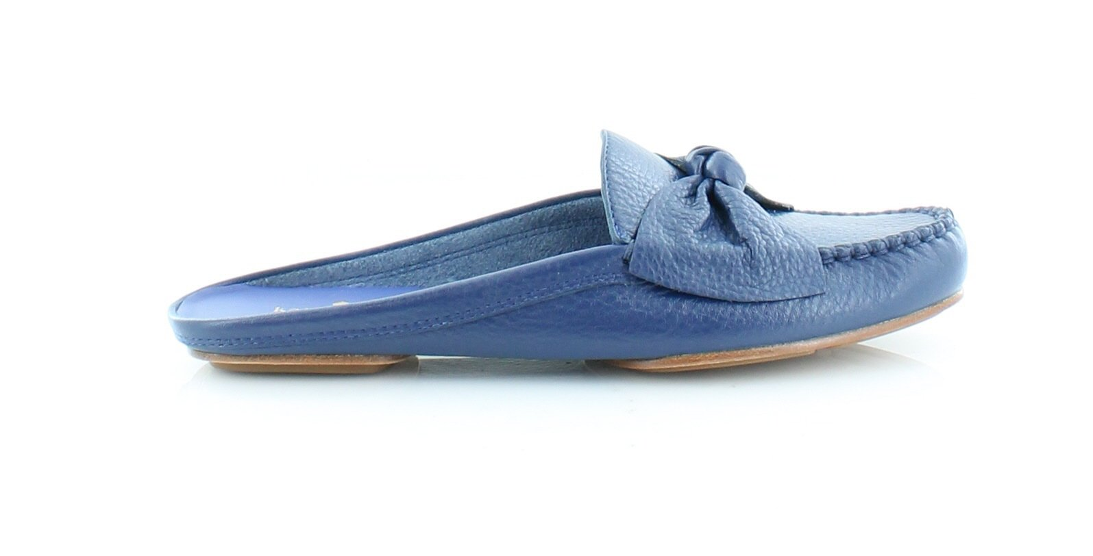 Kate Spade New York Women's Mallory Garden Blue Tumbled Leather Sandal by Kate Spade New York (Image #3)