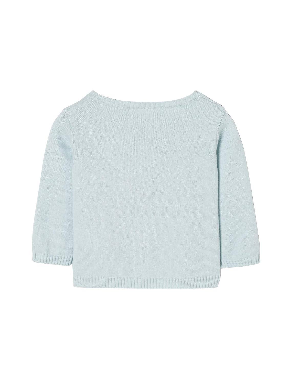 54CM VERTBAUDET Gilet b/éb/é fille en tricot Bleu clair 1M