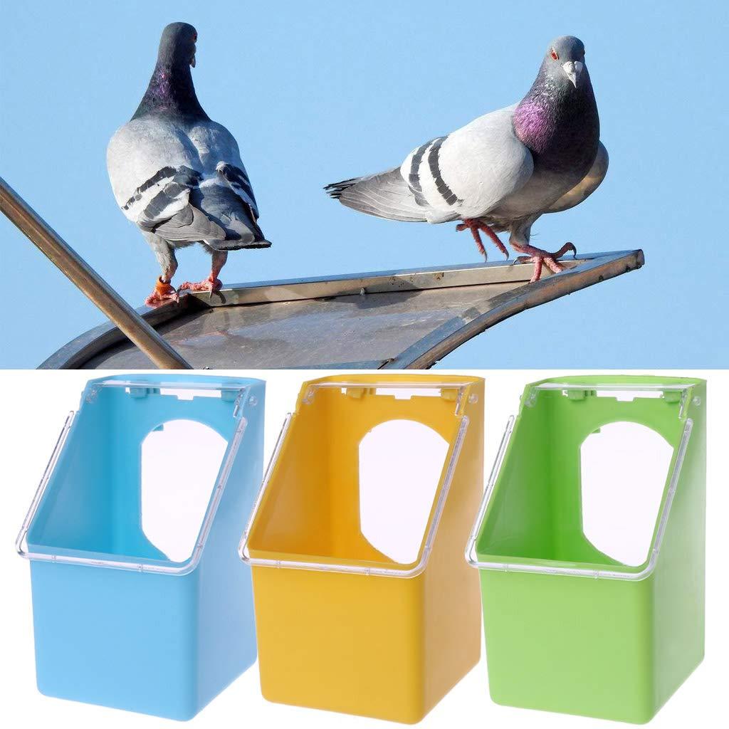 Comedero de agua colgante para bebidas, jaula para pájaros ...